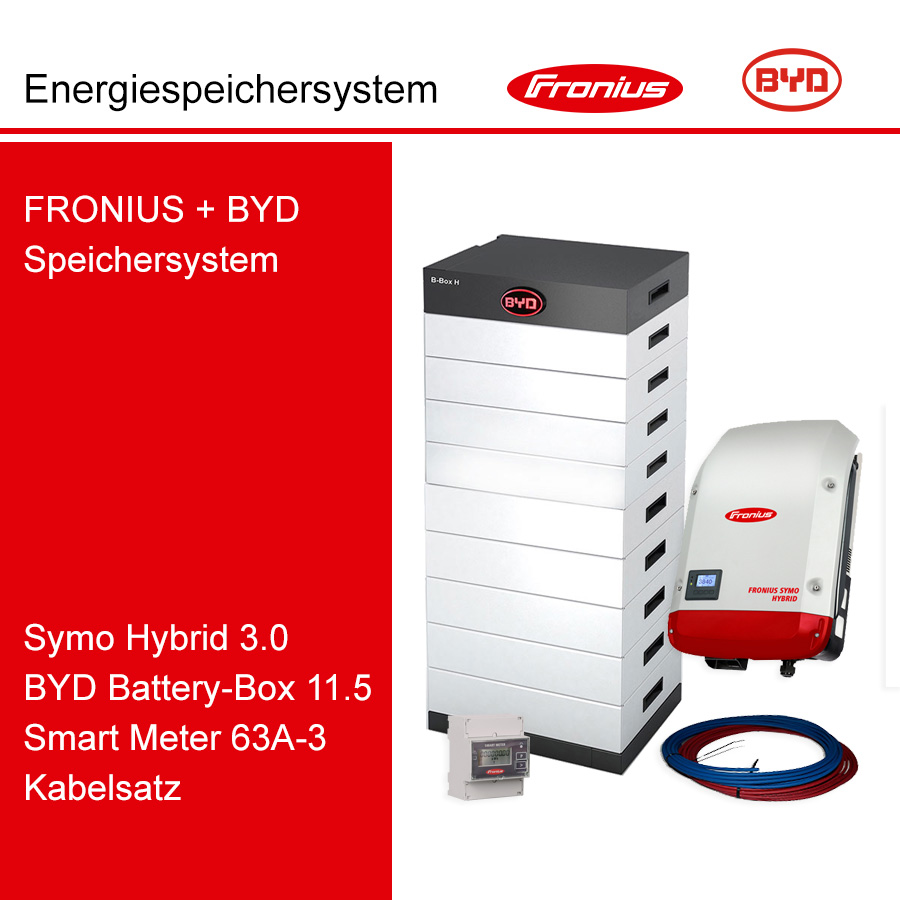 FRONIUS/BYD 3-Ph.Energiespeichersystem SH3.0-3S/H11.5