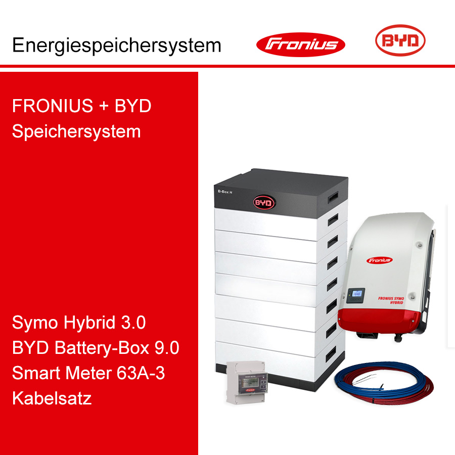 FRONIUS/BYD 3-Ph.Energiespeichersystem SH3.0-3S/H9.0