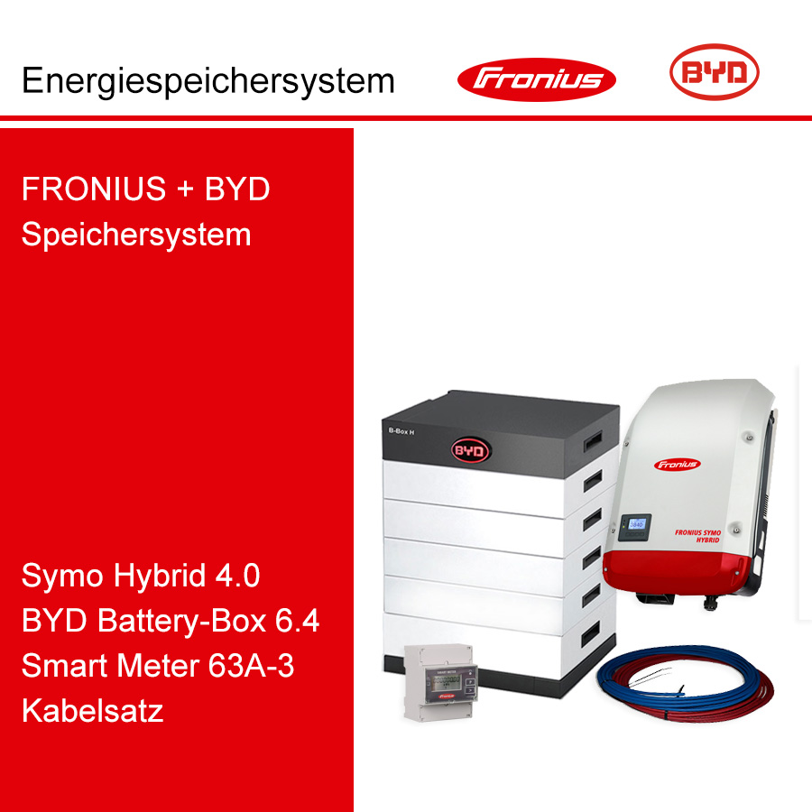 FRONIUS/BYD 3-Ph.Energiespeichersystem SH4.0-3S/H6.4