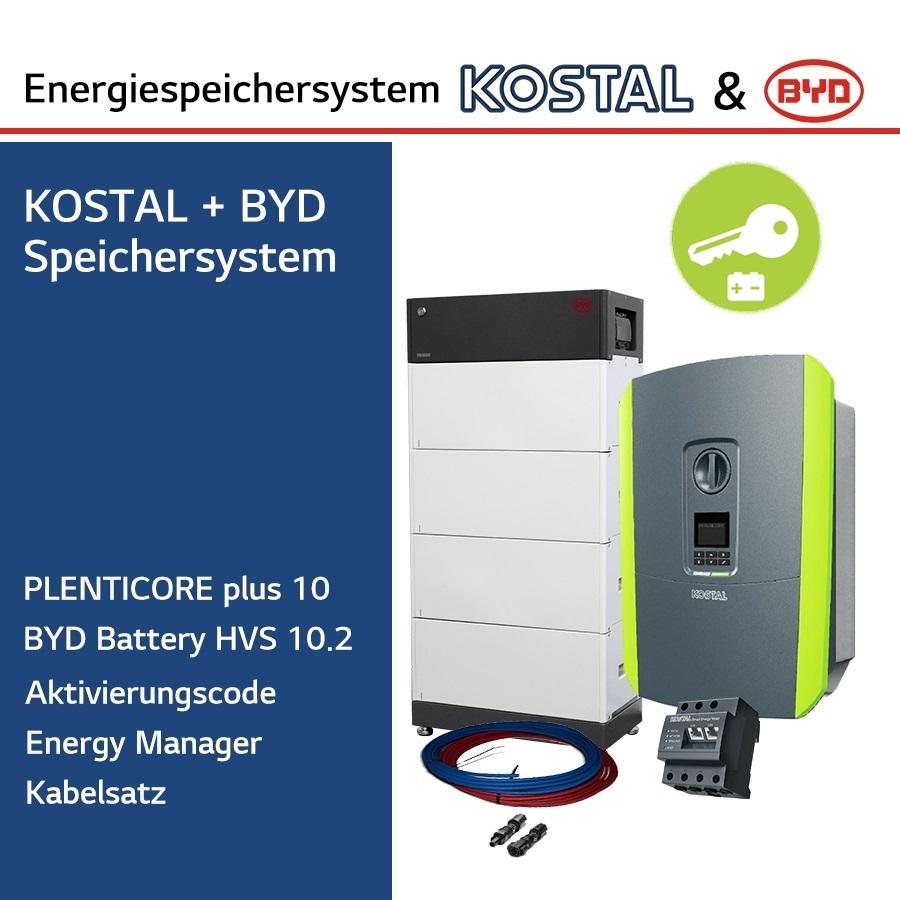 KOSTAL/BYD 3-Ph.Energiespeichersystem PLC10/H10.2