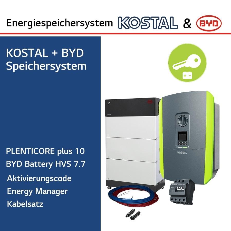 KOSTAL/BYD 3-Ph.Energiespeichersystem PLC10/H7.7