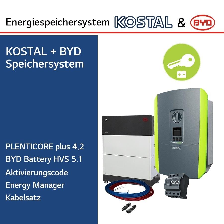KOSTAL/BYD 3-Ph.Energiespeichersystem PLC4.2/H5.1