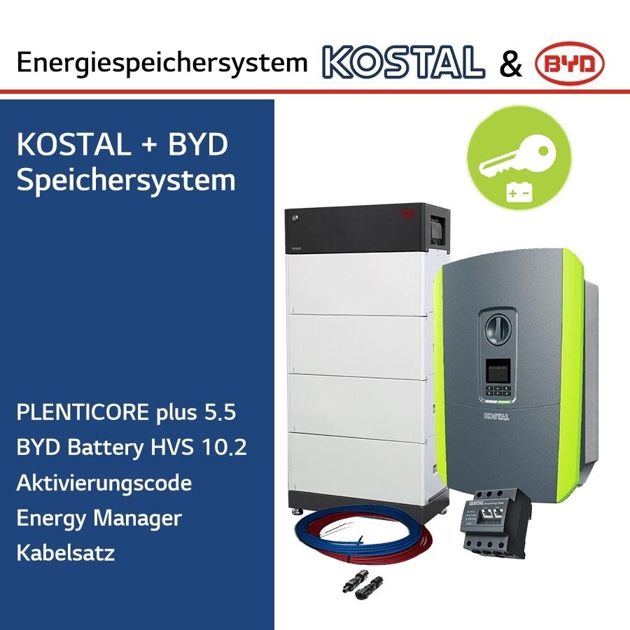 KOSTAL/BYD 3-Ph.Energiespeichersystem PLC5.5/H10.2