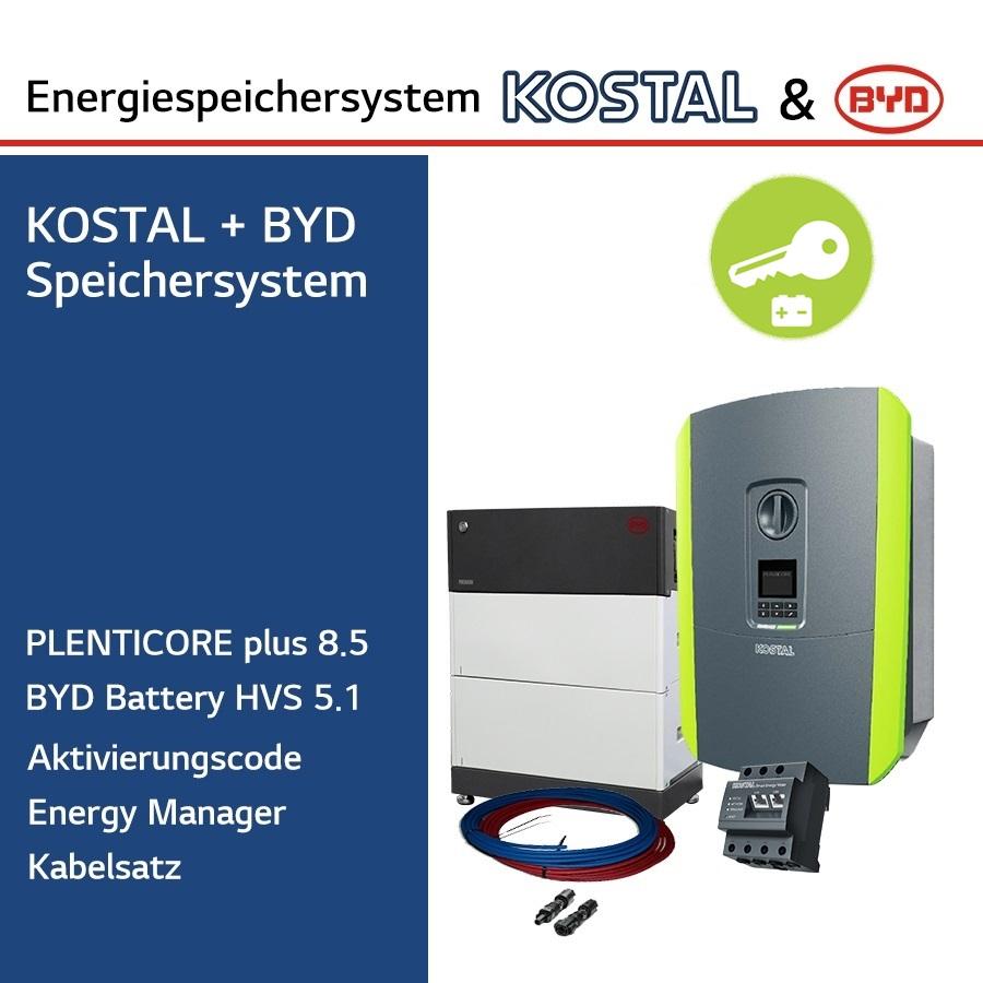 KOSTAL/BYD 3-Ph.Energiespeichersystem PLC8.5/H5.1