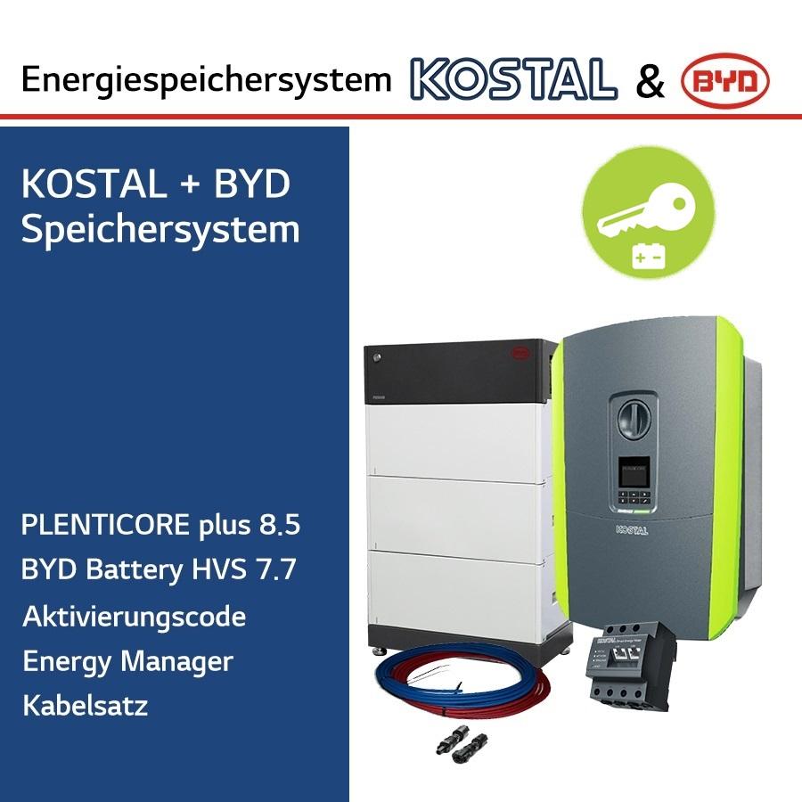 KOSTAL/BYD 3-Ph.Energiespeichersystem PLC8.5/H7.7